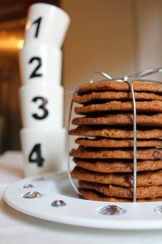 Kakkuviikarin vispailuja!: Chocolate chip cookies