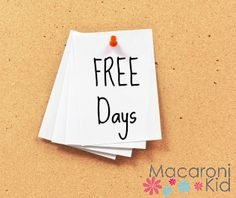 2017 SCFD FREE DAYS AT YOUR FAVORITE VENUES with FREE PRINTABLE