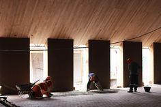 La sabiduría de lo local: construcción de una nueva parroquia para Las Cabras…