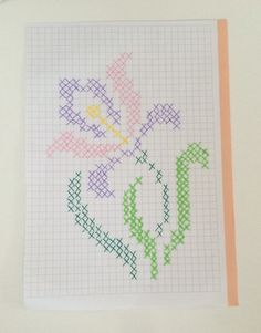 This Pin was discovered by Ays Tiny Cross Stitch, Cross Stitch Cards, Cross Stitch Borders, Modern Cross Stitch, Cross Stitch Flowers, Cross Stitch Designs, Cross Stitching, Cross Stitch Embroidery, Embroidery Patterns
