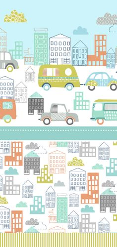 wendy kendall designs – freelance surface pattern designer » holiday traffic