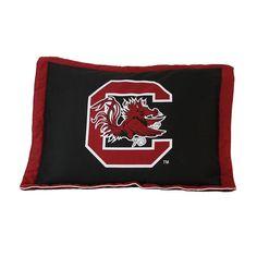 College Covers South Carolina Gamecocks Printed Pillow Sham, Multicolor
