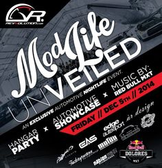 Revvolution is excited to announce an enthusiast experience unlike anything else by combining the 'modified lifestyle' nightlife with the passion for the automotive industry.