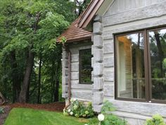 toronto concrete log cabin in the woods small cottage homes in rh pinterest com
