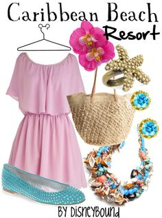 Caribbean Beach Resort -- On a mission to add all the Disney World resort outfits... and a few I find along the way. ;)