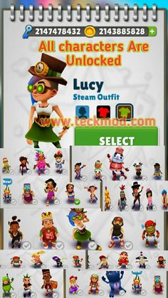 Subway surf Mod Hacked Game unlimited Coins Life and key - Teckmod Jack Scott, Play Hacks, Masterchef, Subway Surfers, Gaming Tips, Test Card, Disney Art, Your Cards, Surfing