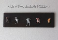 DIY Jewelry Holder | Why Don't You Make Me