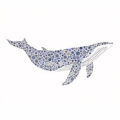 I love whales, and this is a great art piece for that :)