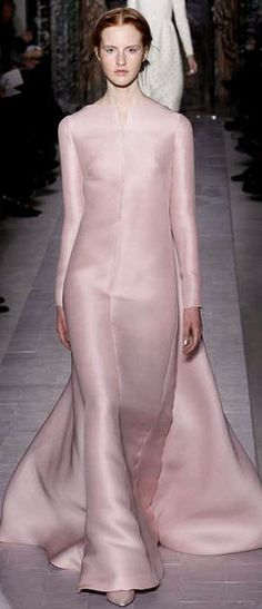Valentino ~ Haute Couture   Spring 2013  style.com