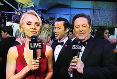JGL photobomb at the Oscars 2013 @Katie  My work here is done.