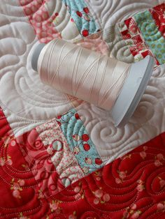 How I choose my thread ~~ for allover quilting.