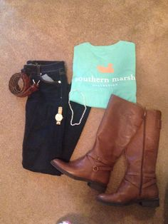 Preppy casual <3 #southern marsh