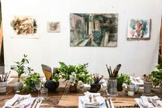 Dinner in an Atelier from Anthology Magazine