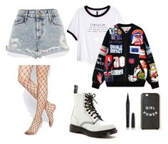 """""""'Feminism'"""" by leiremp ❤ liked on Polyvore featuring ASOS, River Island, H&M, Chicnova Fashion, Dr. Martens, Marc Jacobs, modern, women's clothing, women and female"""