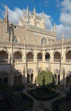 Toledo,monasterio de San Juan de los Reyes