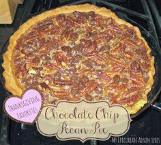 My Epicurean Adventures: Chocolate Chip Pecan Pie