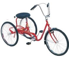 """Trailmate DeSoto 26"""" Classic Adult Tricycle"""