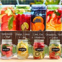 Detox drinks Health and Nutrition Clean flavored water weight loss Getränke Healthy Water, Healthy Detox, Healthy Smoothies, Healthy Drinks, Easy Detox, Diet Drinks, Food And Drinks, Healthy Food, Green Smoothies