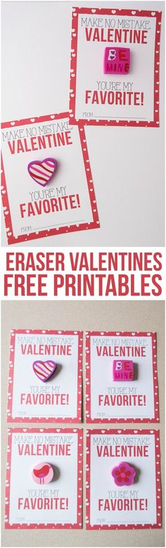 Want a candy alternative for your child's classroom valentines this year? Our Eraser Classroom Valentines are so easy to put together, and they're super affordable!