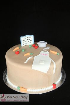 Mother's Day cooking themed cake