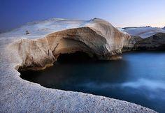 Sarakiniko, Milos, Greece <3
