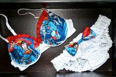 Ruffled Superman Set