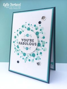 Stampin' Up! Australia: Kylie Bertucci Independent Demonstrator: Global Design Project 004 | A Whole Lot of Lovely