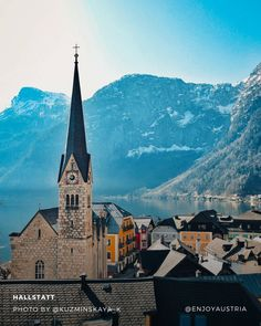 Austrian Village, Homeland, Chinese, Mountains, Photo And Video, Live, Building, Places, Travel