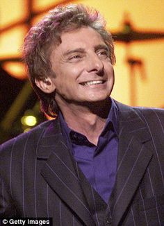 Barry Manilow, displays a very taut face during TV interview My Favorite Music, Favorite Person, Favorite Things, Barry Manilow Songs, Famous People In History, I Write The Songs, Film Music Books, The Good Old Days, Music Artists