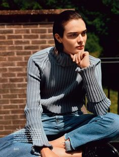 Sam Rollinson by Alasdair McLellan for The Gentlewoman Magazine F/W 2014