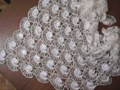 DISCOUNT 20  White Shawl / MOTHER'S Day  gift by YARNARTWORLD, $119.00