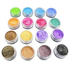 Glitter Pigment Eyeshadow, Powder Soap, Soap Making Recipes, Pigment Coloring, Pigment Powder, Resin Material, Makeup Items, Lip Gloss, Nail Colors