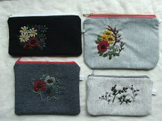 wool-embroidered by tiny happy, via Flickr