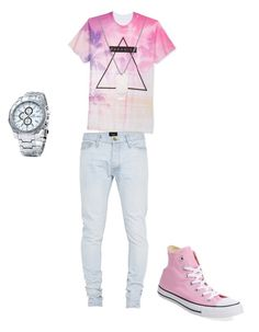 """""""Untitled #2"""" by amiyhajohnson ❤ liked on Polyvore featuring Univibe, Fear of God and Converse"""