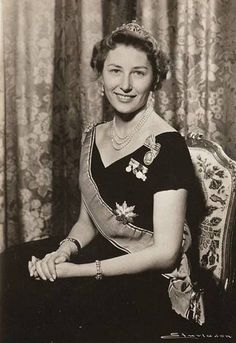 Princess Astrid of Norway, daughter of Crown Prince Olav (later King Olav V of Norway) and Crown Princess Martha of Norway, née Princess Martha of Sweden