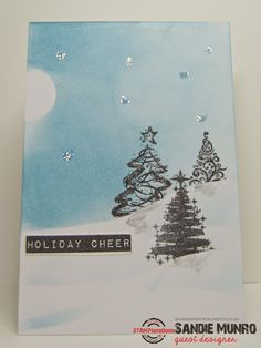 Card by Sandie using Oh, Christmas Tree!
