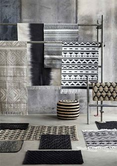 Beautiful Spring rug from Danish brand House Doctor. Combine it with the rest of the awesome House Doctor collection to create an unique look. House Doctor, House Dr, Deco Design Pas Cher, Ethno Design, Objet Deco Design, Tapis Design, Turbulence Deco, Ideas Prácticas, Decor Ideas