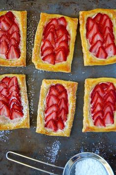 Preheat your oven for a quick and easy breakfast pastry recipe made with only 5 ingredients!