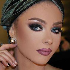 «I am very keen on using green and earth tones, these colors give me life! Glam Makeup Look, Sexy Makeup, Flawless Makeup, Gorgeous Makeup, Love Makeup, Beauty Makeup, Makeup Looks, Hair Makeup, Smokey Eye Makeup