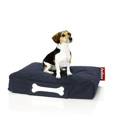 Fatboy Doggielounge Stonewashed small - dark blue