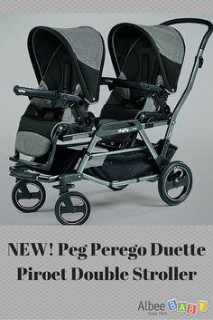 NEW! Peg Perego Duette Piroet Double Stroller #AlbeeBaby