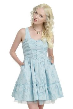 "Like several of the retailer's recent lines, many of the pieces come in women's sizes XS through 5X — plus, this one offers men's sizes up to 3X, too. There's the Tea Party Dress… | This Size-inclusive ""Alice In Wonderland"" Clothing Line Is Adorable"