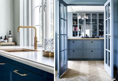 Kitchen | 4 different styles | kitchen makeover Kitchen Layout, Dali, Kitchen Styling, Terrazzo, Kitchen Island, Cabinet, Storage, Interior, Furniture