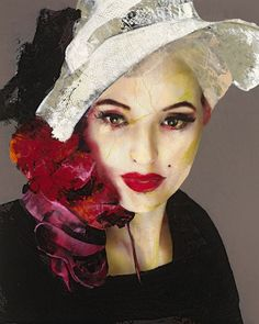 Marilyn 02; mixed media on canvas; 250x200 cm