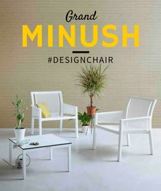 #Comfy This is amazing! Grand Minush is an elegant chair developed with contemporary lifestyles and intended for relaxing moments. #designchair #wearecontract www.gaber.it