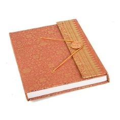 Amazon.com: Sari Handmade Journal Gold, 100% Cotton Pages (15cm x 20cm): Home & Kitchen