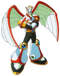 The Skiver, known as Spiral Pegacion (スパイラル・ペガシオン Supairaru Pegashion) in Japan, also known as Spiral Pegasus, is a Pegasus-themed Reploid from Mega Man X5. He was a young director of the Repliforce air brigade, who survived the Repliforce Incident that occurred during the events of Mega Man X4. He looked up to Colonel and General and knows Iris. Skiver then began overseeing an Air Force base near to the west coast of Norway, known as the Reploid Air Force. If he was fully infected, he…