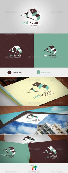 Logo Real Estate Logo Design Template Vector #logotype Download it here:  http://graphicriver.net/item/logo-real-estate-template/719733?s_rank=378?ref=nexion