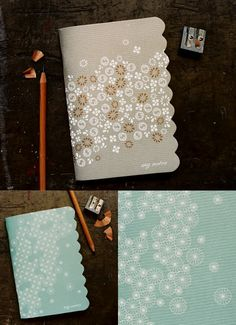 If we had more time we were going to add all sorts of patterns to our guestbooks. :)