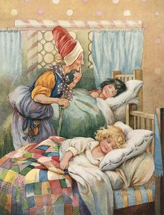 Sir Arthur Lyon Bowley (English, 1869 - «Hansel and Grethel Hansel Y Gretel, Prince Charmant, Fable, Fairytale Art, Children's Book Illustration, Book Illustrations, Nursery Rhymes, Fairy Tales, Illustrator